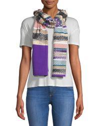 Missoni Multi-print Stripe Scarf - Multicolor