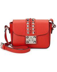 Valentino By Mario Valentino - Yasmine Leather Shoulder Bag - Lyst