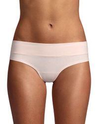 Ava & Aiden Wide Band Low-rise Briefs - Brown