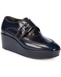 Balenciaga | Platform Leather Shoes | Lyst