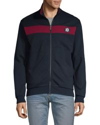 Ben Sherman Cotton-blend Track Jacket - Blue