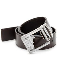 Versace Versace Leather Belt - Brown