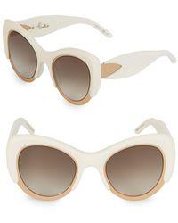 Pomellato - 50mm Cat-eye Sunglasses - Lyst