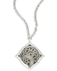 Lois Hill - Signature Cutout Pendant Necklace - Lyst