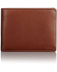 Tumi Global Leather Double Billfold - Brown