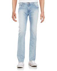 Hudson Jeans Men's Slim Straight-leg Jeans - Rosedale - Size 30 - Blue