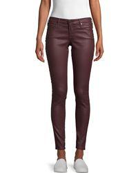AG Jeans Farrah Skinny Ankle Jeans - Multicolour