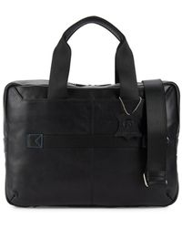 Robert Graham Seurat Leather Briefcase - Black