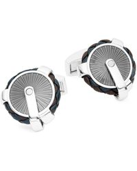 Tateossian - Pulley Leather Cuff Links - Lyst