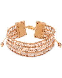 Chan Luu - Multi-stone And Leather Bracelet - Lyst