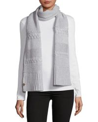 UGG - Knit Cable Scarf - Lyst
