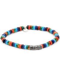 Tateossian - Multi-media Beaded Bracelet - Lyst