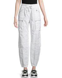 BLANC NOIR Women's Airborne Camo Jogging Pants - White - Size S