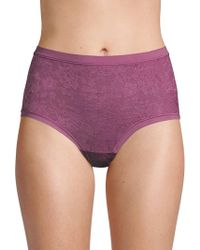 Le Mystere - Lace High-waist Briefs - Lyst