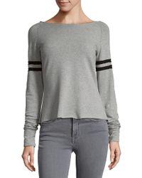 R + R Surplus - Boatneck Varsity Sweatshirt - Lyst