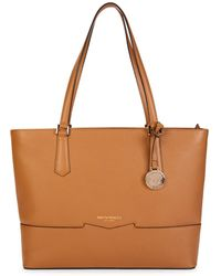 Bruno Magli Women's Easy Leather Tote - Latte - Brown