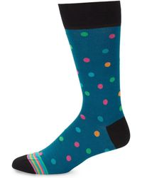 Bugatchi - Geometric Circle Socks - Lyst