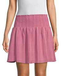 Parker - Smocked Waist Skirt - Lyst
