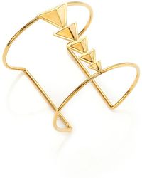 Tomtom - Chevron Prix Pyramid Axis Cuff Bracelet - Lyst