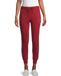True Religion Women's Embellished Logo Joggers - Bleed True - Size Xs - Red