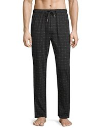 Lacoste - Logo Drawstring Pyjama Trousers - Lyst