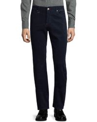 Bugatchi - Corduroy Straight Trousers - Lyst