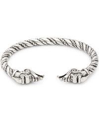Perepaix - Twisted Cuff Bracelet - Lyst