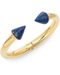 Vita Fede - Classic Titan Lapis Cuff Bracelet/goldtone - Lyst