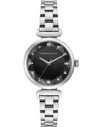 BCBGMAXAZRIA Classic Stainless Steel Bracelet Watch - Gray