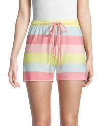 Wildfox Women's Carter Striped Shorts - Size M - Multicolour
