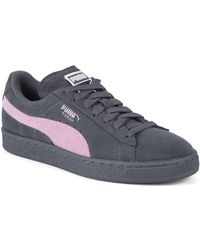 PUMA - Classic Suede Low-top Sneakers - Lyst 9f2555f1b