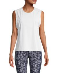 The Upside Women's Perforated Top - Lilac - Size Xs - Purple