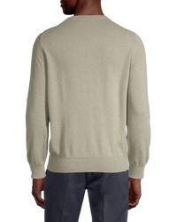Brunello Cucinelli Crewneck Cashmere Sweater - Gray