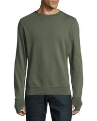Orlebar Brown - Cotton Roundneck Sweater - Lyst