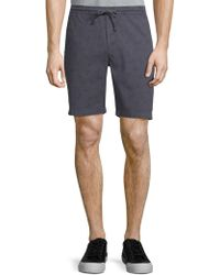 Michael Bastian - Bicycle-print Shorts - Lyst