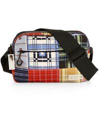 Ganni Plaid Crossbody Bag - Multicolour