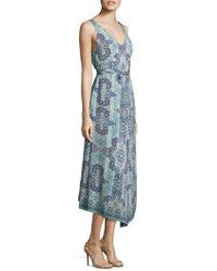 Nanette Lepore - Windswept Silk Dress - Lyst