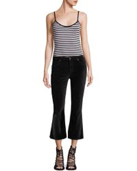 PAIGE - Kinsley Striped Bodysuit - Lyst