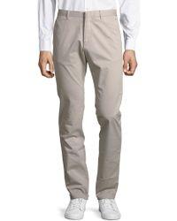 Strellson Slim-fit Chino Trousers - Grey