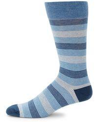 Saks Fifth Avenue - Mid-calf Stripe Socks - Lyst