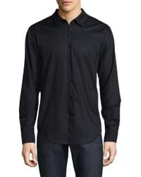 John Varvatos - Polka-dot Button-down Shirt - Lyst