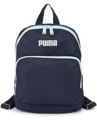PUMA Logo Small Backpack - Blue