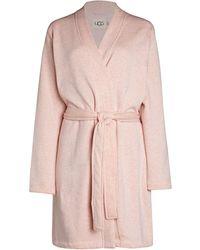 UGG Clarence Wrap Robe - Pink