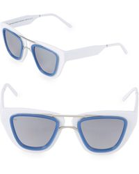 Smoke X Mirrors Sodapop Iv 48mm Square Oversized Sunglasses - Multicolour