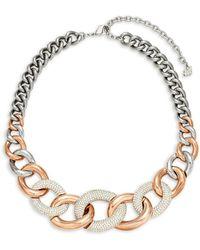 Swarovski - Crystal Choker Necklace - Lyst