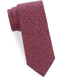 Saks Fifth Avenue - Tonal Silk Tie - Lyst