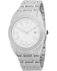 Versace Men's Stainless Steel Chronograph Bracelet Watch - Gray