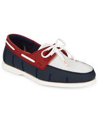 Swims - Lace-up Boat Loafers - Lyst