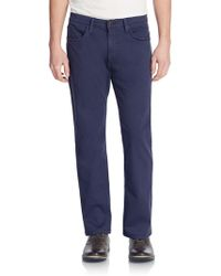 Joe's Jeans - Brixton Slim Straight Twill Pants - Lyst
