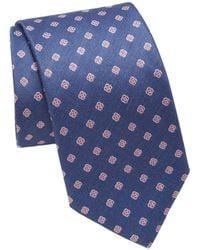 Eton of Sweden - Floral Patterned Tie - Lyst